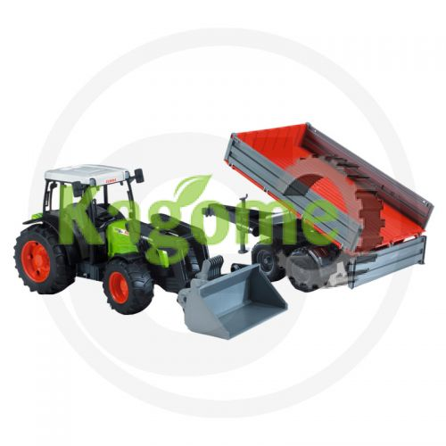 60002112 BRUDER JUCARIE CLAAS NECTISE 267F CU REMORCA